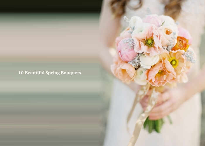 10 Beautiful Spring Wedding Bouquets Which Flowers Are In Season