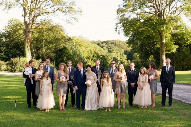 Weddingsonline Real Weddings: Cocktails & Croquet At Ballinacurra House