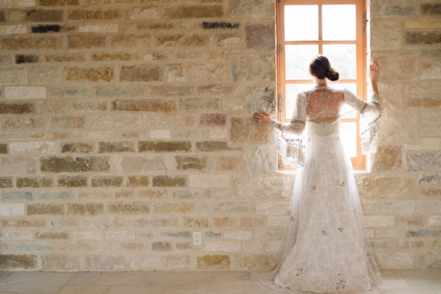 claire pettibone wedding dress shoot