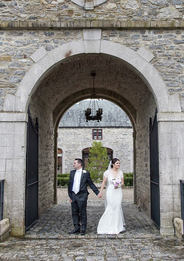 bride and groom clonabreany house wedding photographs