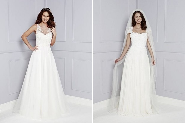 We Re So Excited To Share With You Today The Brand New Wedding Dresses Collection From One Of Our Favourite British Designers Amanda Wyatt Presents Blue