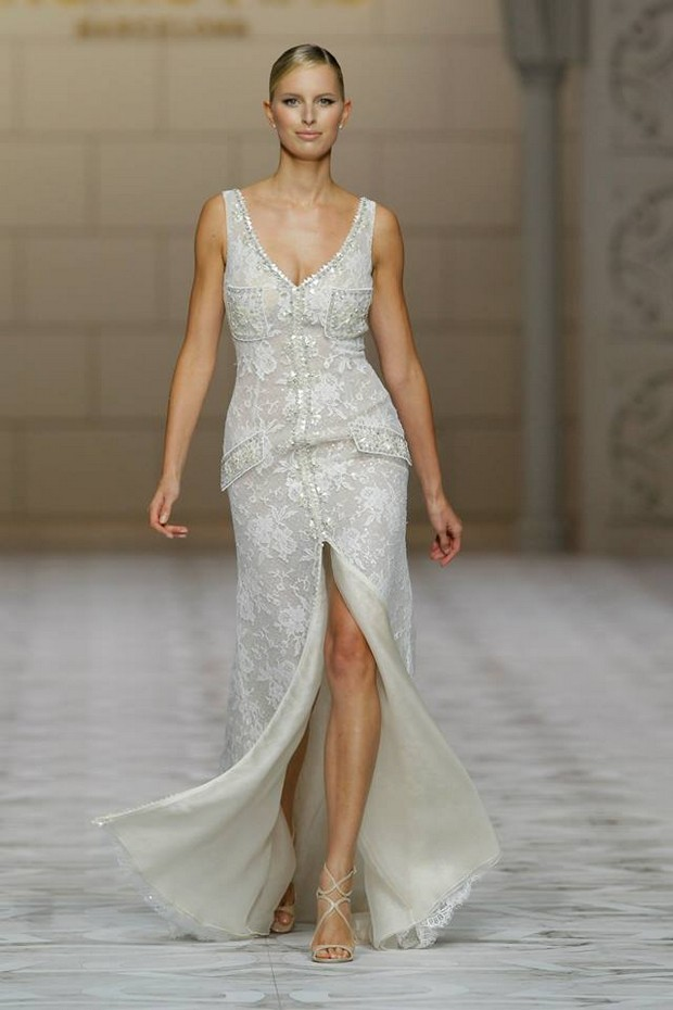 pronovias-2015-beaded-slit-wedding-dress