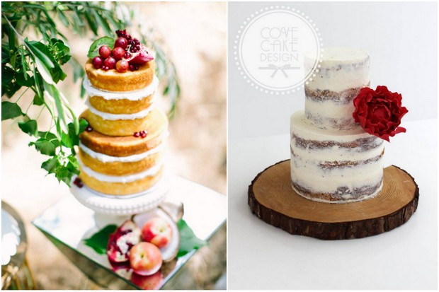 naked non iced wedding cake trends 2015