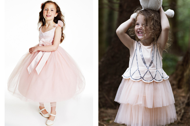 Pretty Princess Dresses For Flower Girls Weddingsonline