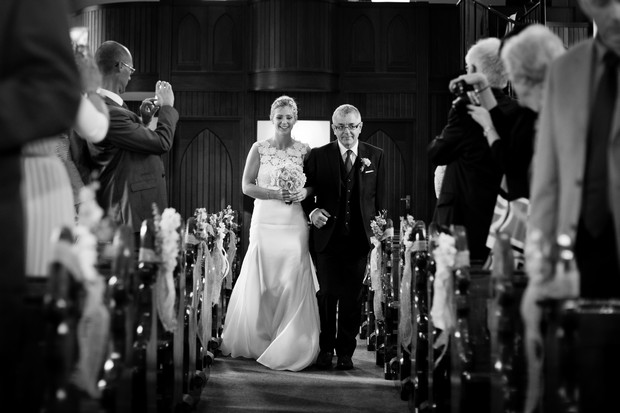 17-black-white-bride-father-walking-aisle