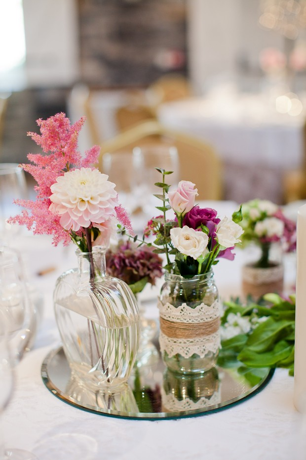 37-vintage-diy-style-wedding-centerpiece-table-decor