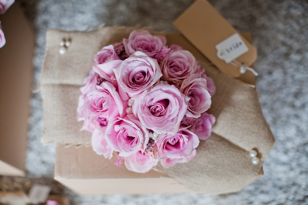 blush-pink-rose-wedding-bouquet-vintage
