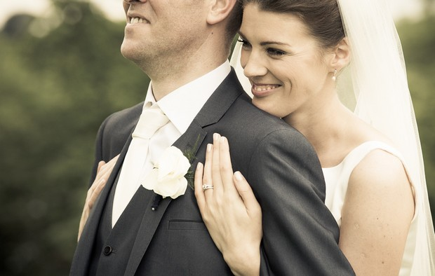 real wedding couple by insight photography ireland