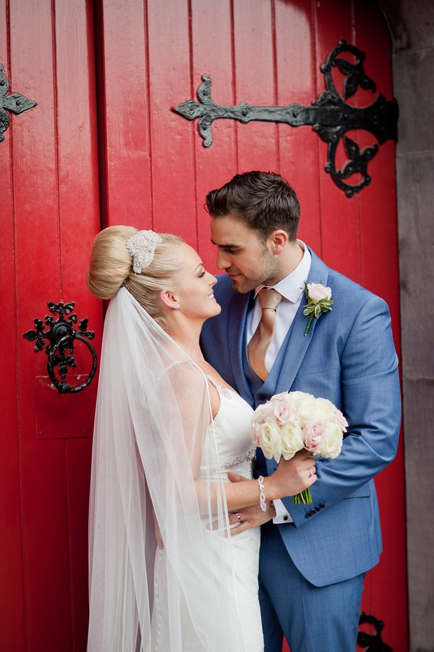 bride-and-groom-outside-church