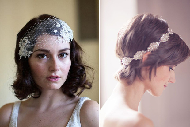 16 Romantic Wedding Hairstyles For Short Hair Weddingsonline