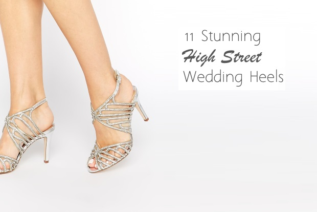 7824a7cc90bf 11 Stunning High Street Wedding Shoes for Summer Brides 2015
