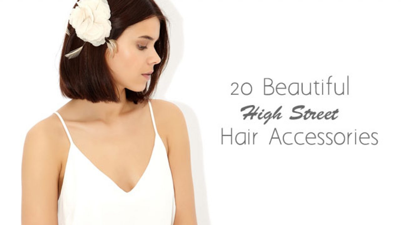 20 beautiful budget bridal hair accessories from the high