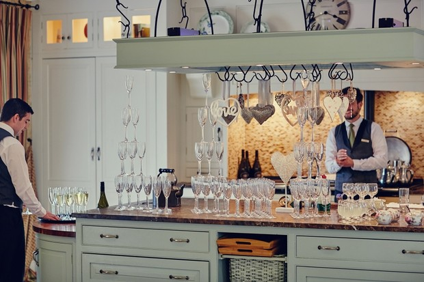 stacked-champagne-glasses-wedding