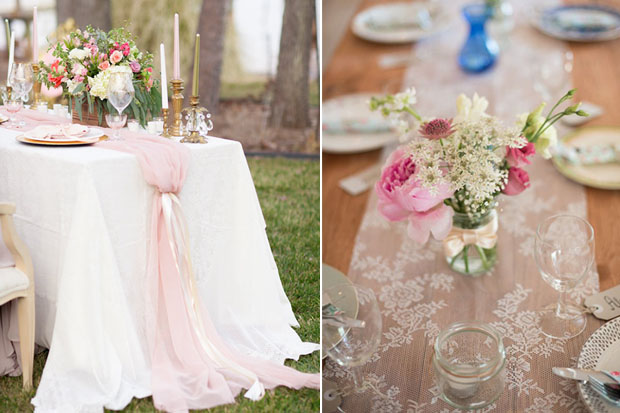 14 Fabulous Wedding Table Runners Weddingsonline