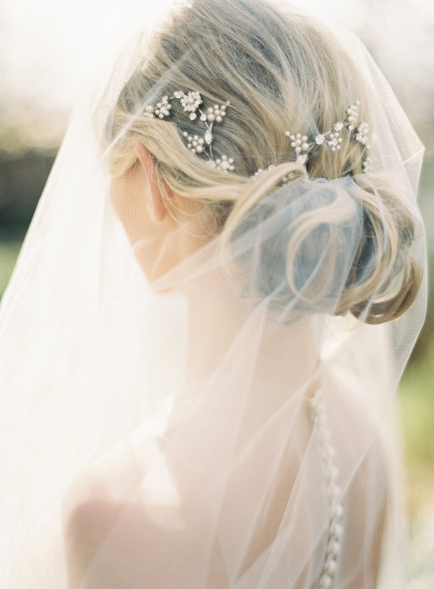 bride-with-pinned-veil