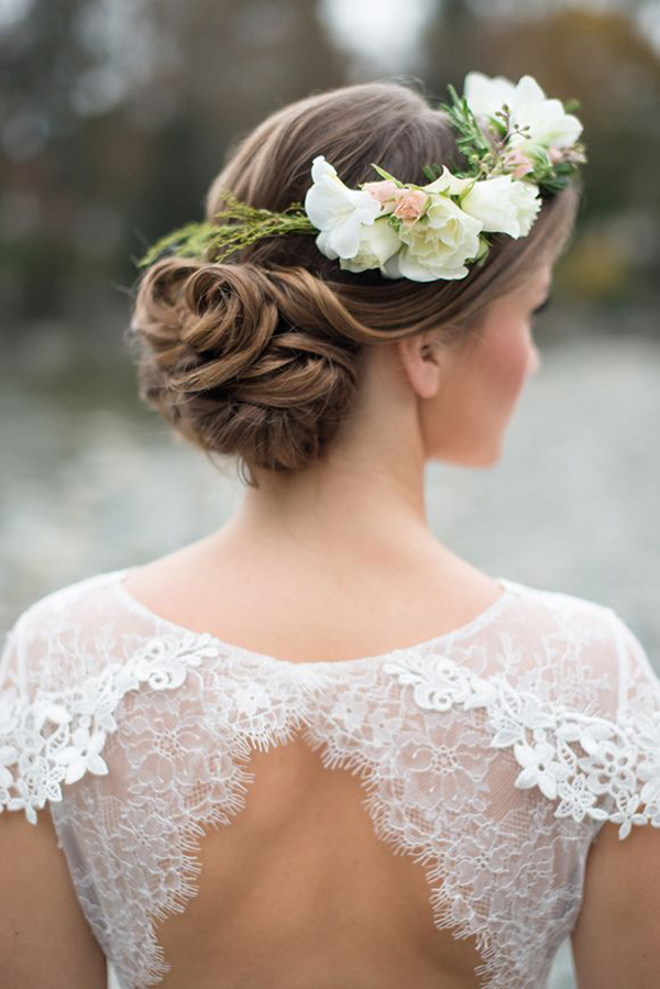 wedding-hairstyle-floral-crown-updo