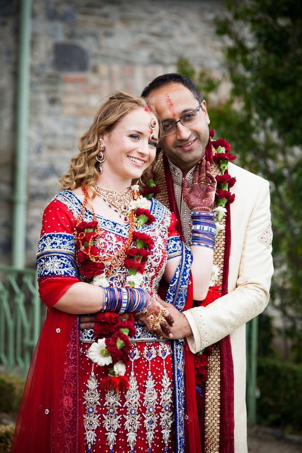 red-blue-indian-wedding-theme-bride-groom-style (1)