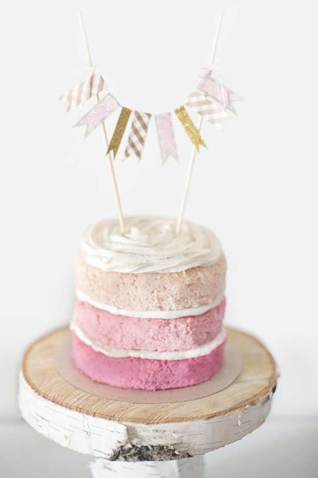 ombre-pink-naked-wedding-cake