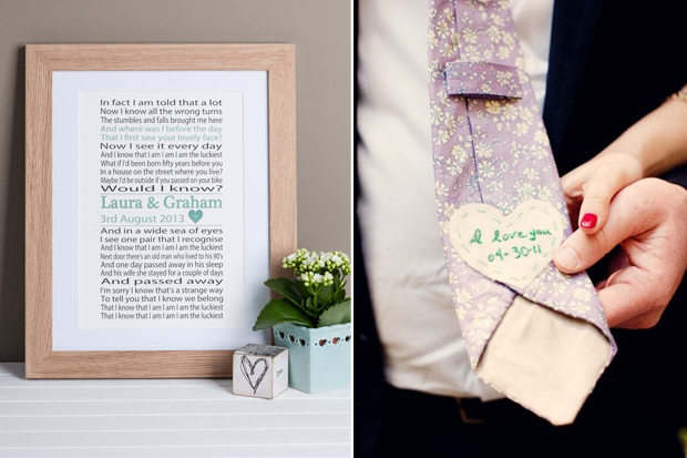 18 Sweet Wedding Day Gift Ideas For Brides Grooms Weddingsonline