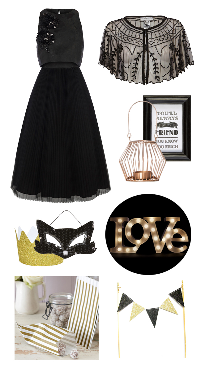 black-and-gold-halloween-wedding-ideas