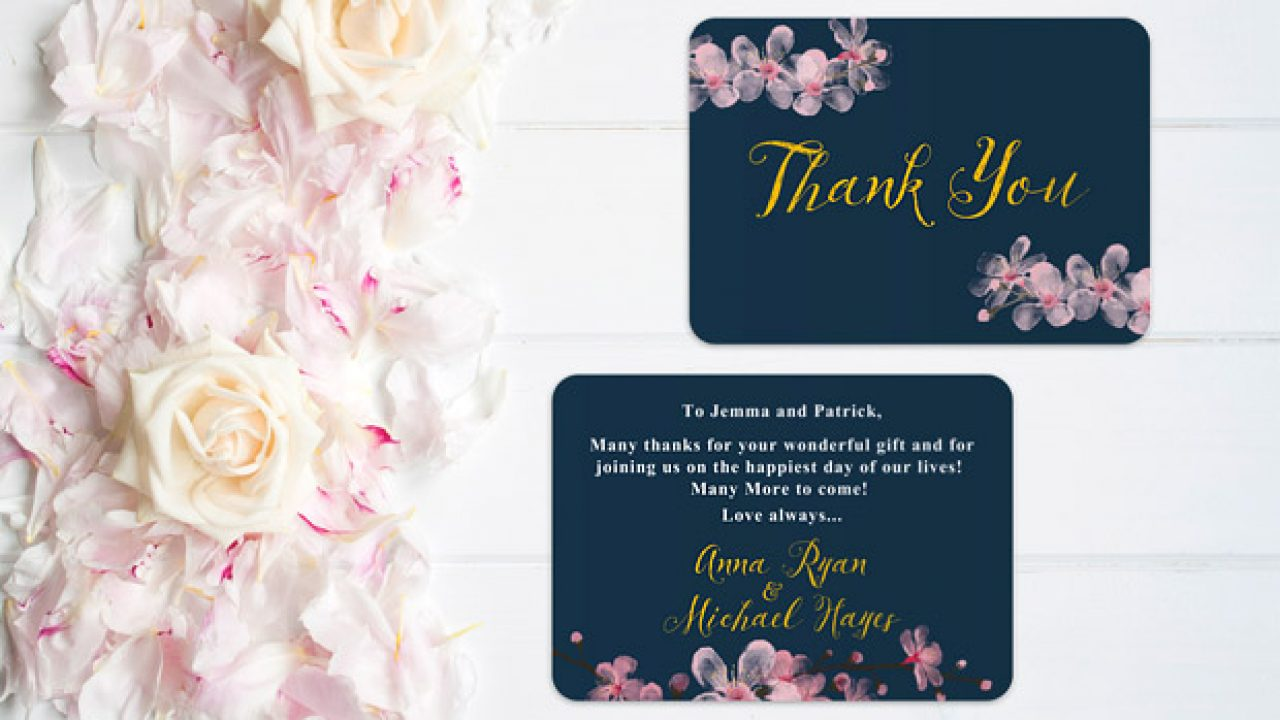 Wedding Thank You Cards All The Answers Weddingsonline
