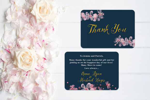 Wedding Thank You Cards All The