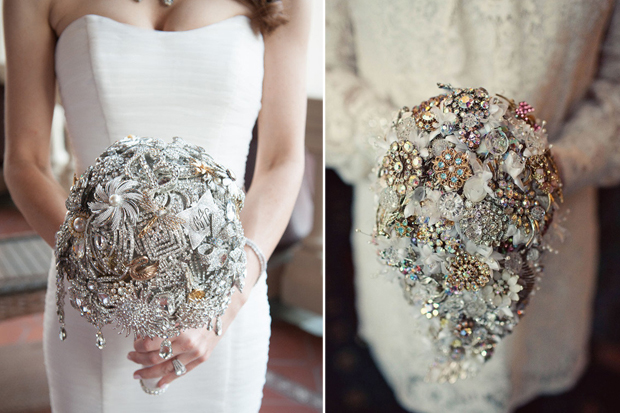 18 Incredible Bridal Brooch Bouquets Weddingsonline