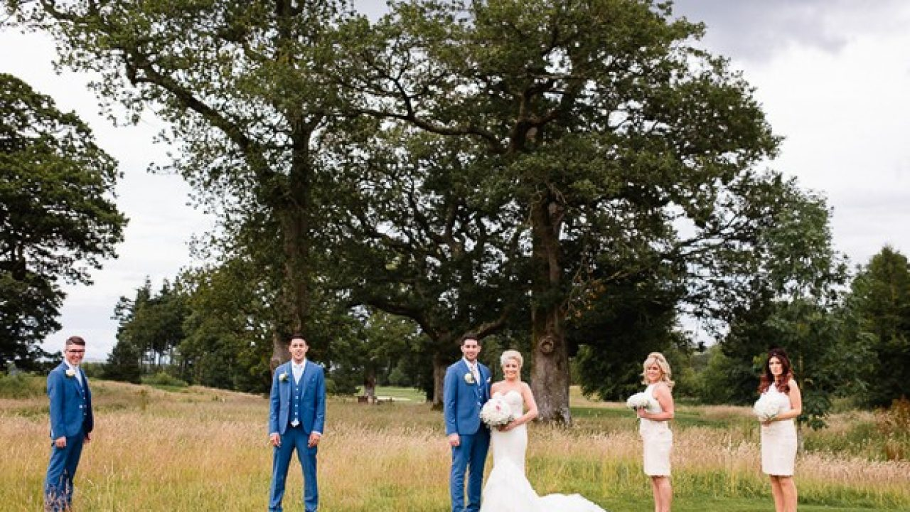A Dreamy, Vintage-Inspired Wedding at Tulfarris Hotel, Wicklow