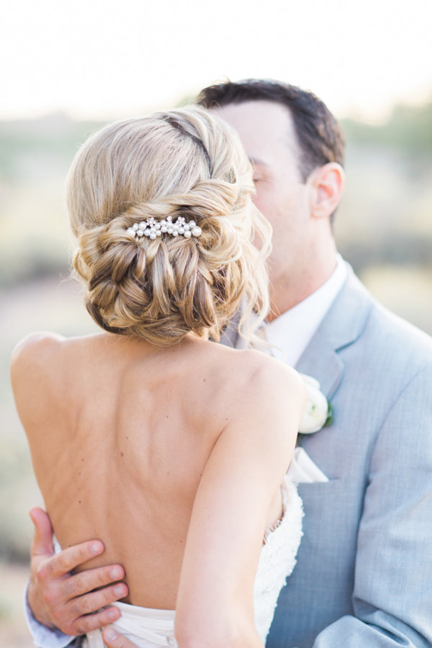 romantic-twisted-bridal-updo-wedding-hairstyles