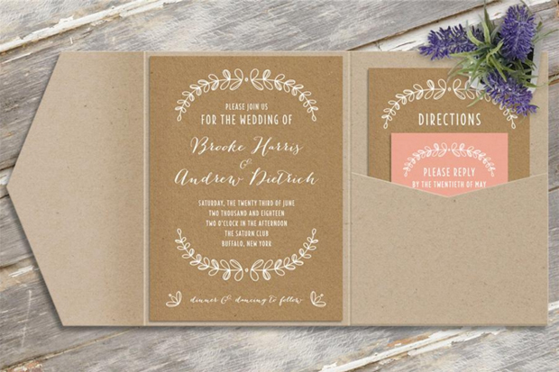 How Much To Spend On Wedding Invitations: 38 Gorgeous Wedding Invites To Suit Every Style Of Wedding