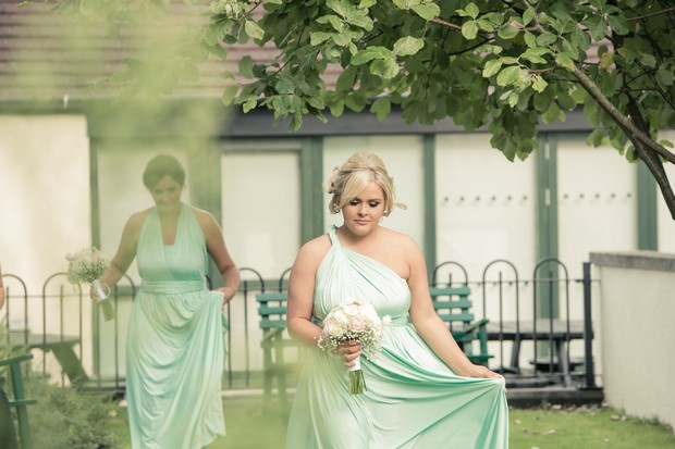 bridesmaids-in-multi-wear-mint-green-full-length-bridesmaid-dresses