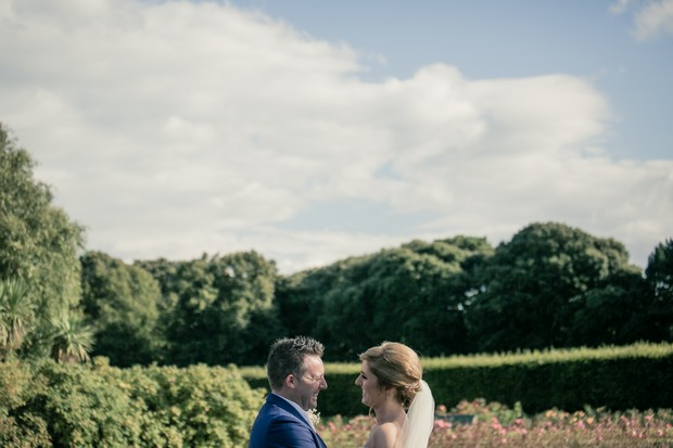 clontarf-castle-wedding-bride-and-groom-laughing