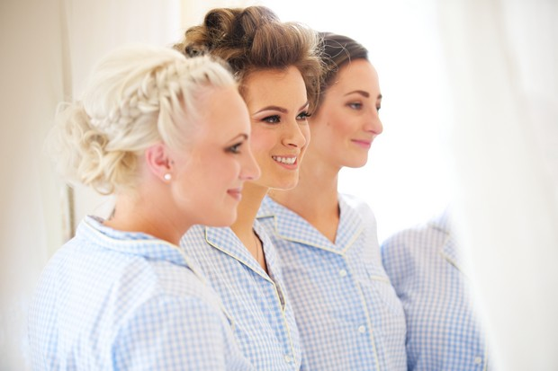 9_Bridesmaids_in_PJs_Blue_Traditional