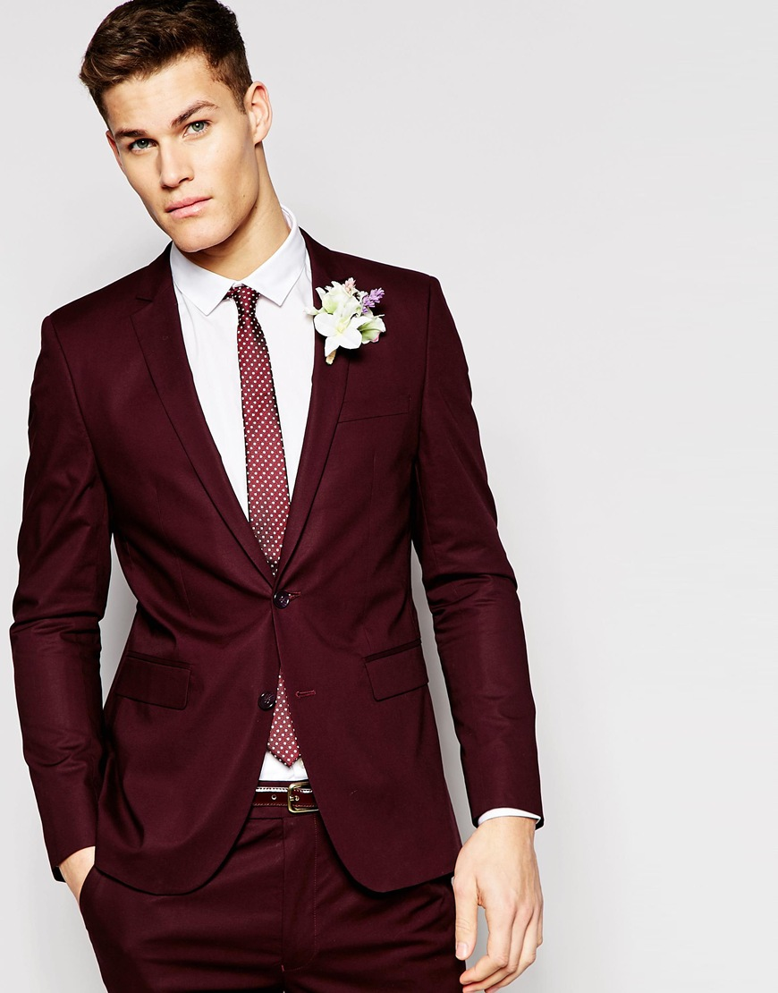 asos-skinny-suit-burgundy-red-wedding-groom