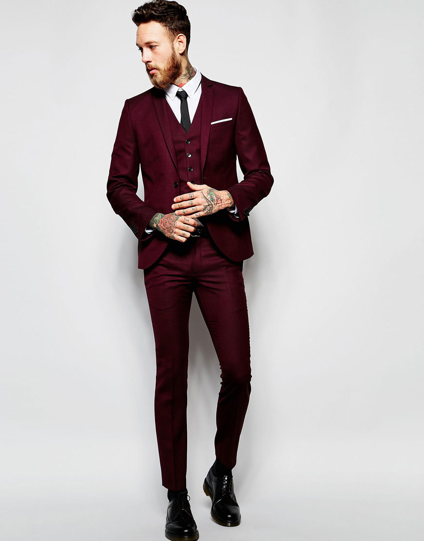 heart-dagger-burgundy-wedding-suit-super-skinny-asos-groom