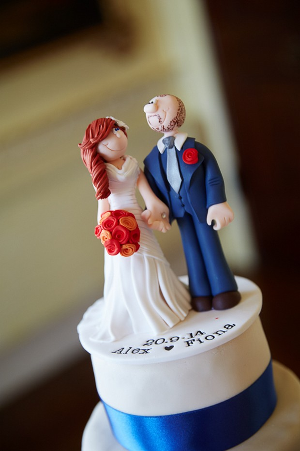personalised_cartoon_wedding_Cake_topper_bride_groom_figurine_ireland