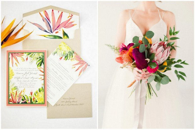 The Most Fun Tropical Wedding Theme Youve Ever Seen Weddingsonline