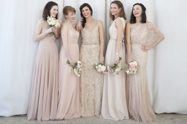 09a933af2a Join us as we explore the best ways to mix and match your bridesmaid dresses  and to pull it off in style!