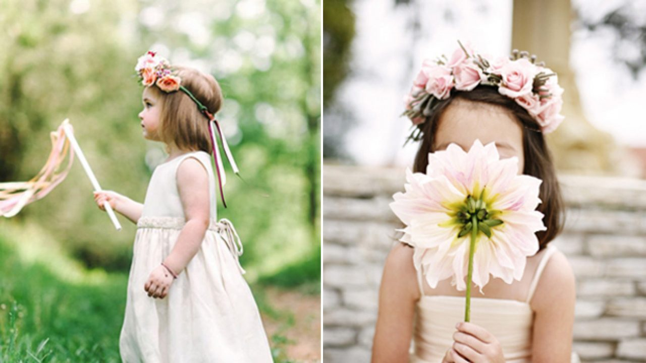 11 Of The Cutest Entrance Ideas For Flower Girls Page Boys