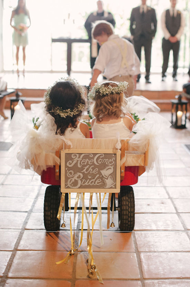 here-comes-the-bride-cart