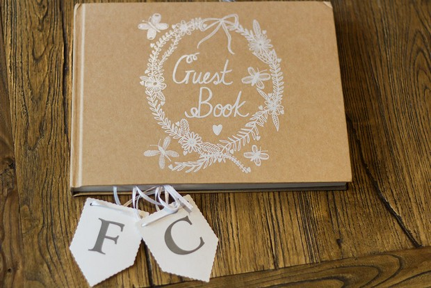 Kraft-Paper-Brown-Wedding-Guest-book-weddingsonline