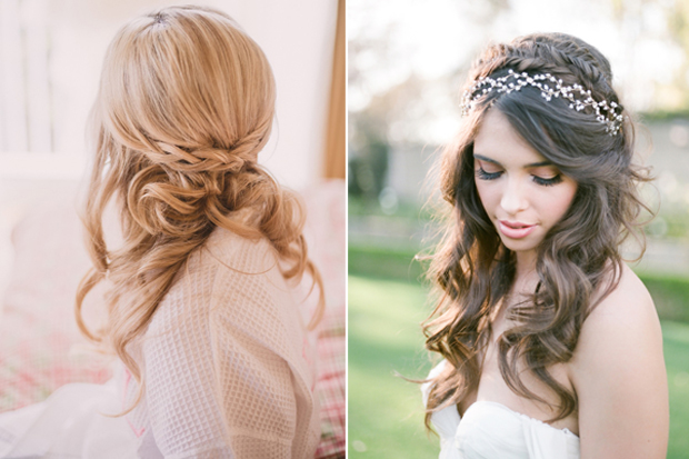 16 Stunning Half Up Half Down Wedding Hairstyles Weddingsonline