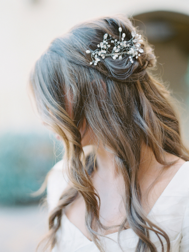 romantic-half-up-half-down-wedding-hairstyle