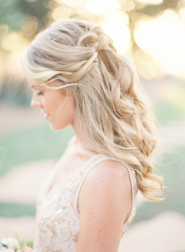 soft-wavy-half-up-half-down-wedding-hairstyle