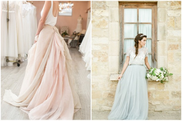 72fa2205ca6 16 Stunning Bridal Separates that ll Change What you Think about Wedding  Dresses