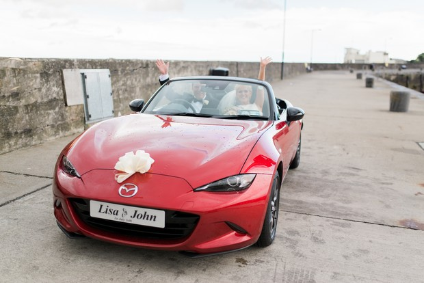 28-red-sports-car-wedding-ireland-weddingsonline