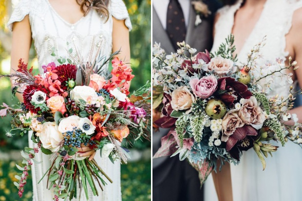 10 Awesome Autumn Wedding Bouquets You
