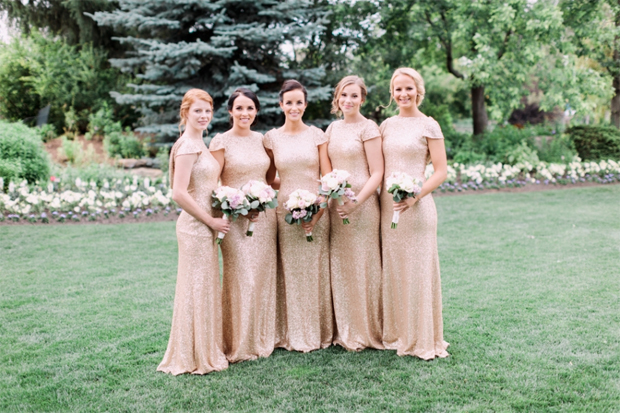 21 Stunning Silver Gold Bridesmaid Dresses Weddingsonline