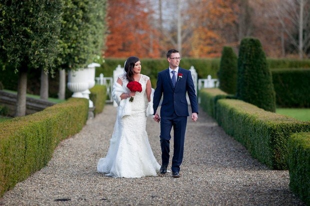 A Charming Christmas Wedding At Palmerstown House By