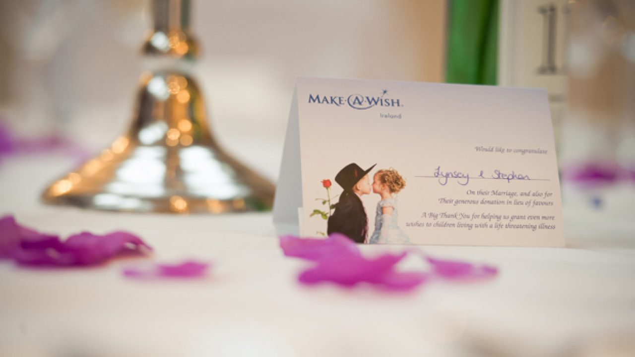 Give Back On Your Big Day Charity Wedding Favours Weddingsonline